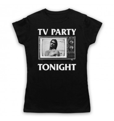 Black Flag TV Party Womens Clothing