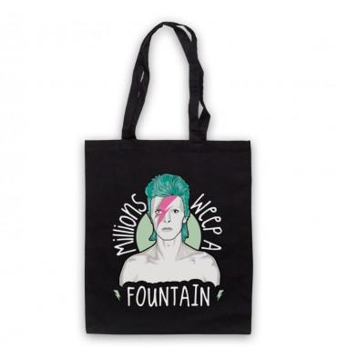 David Bowie Aladdin Sane Tote Bag